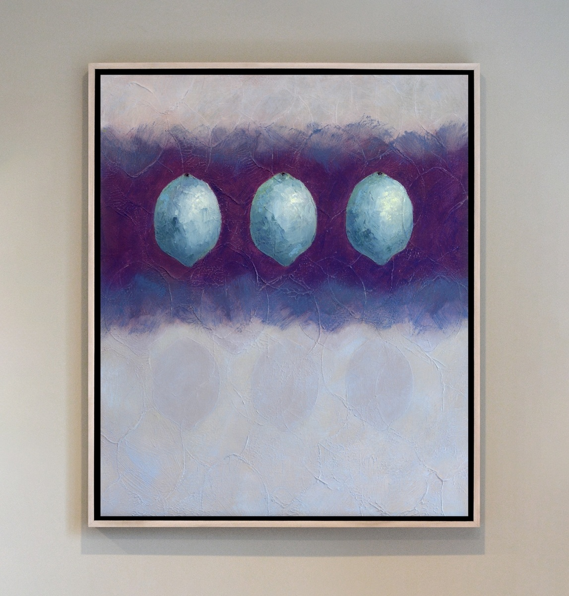 Overprint317. 2020, oil and cold wax on canvas, 20 x 24 in (n317)